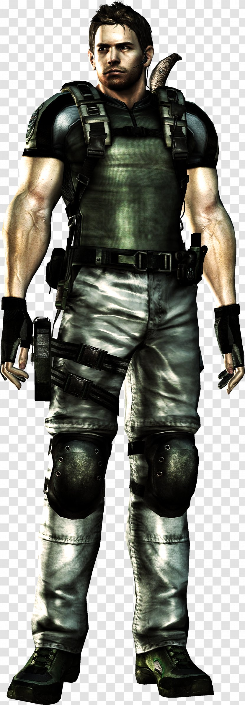 Resident Evil 5 7 Biohazard 6 Chris Redfield Muscle Transparent Png