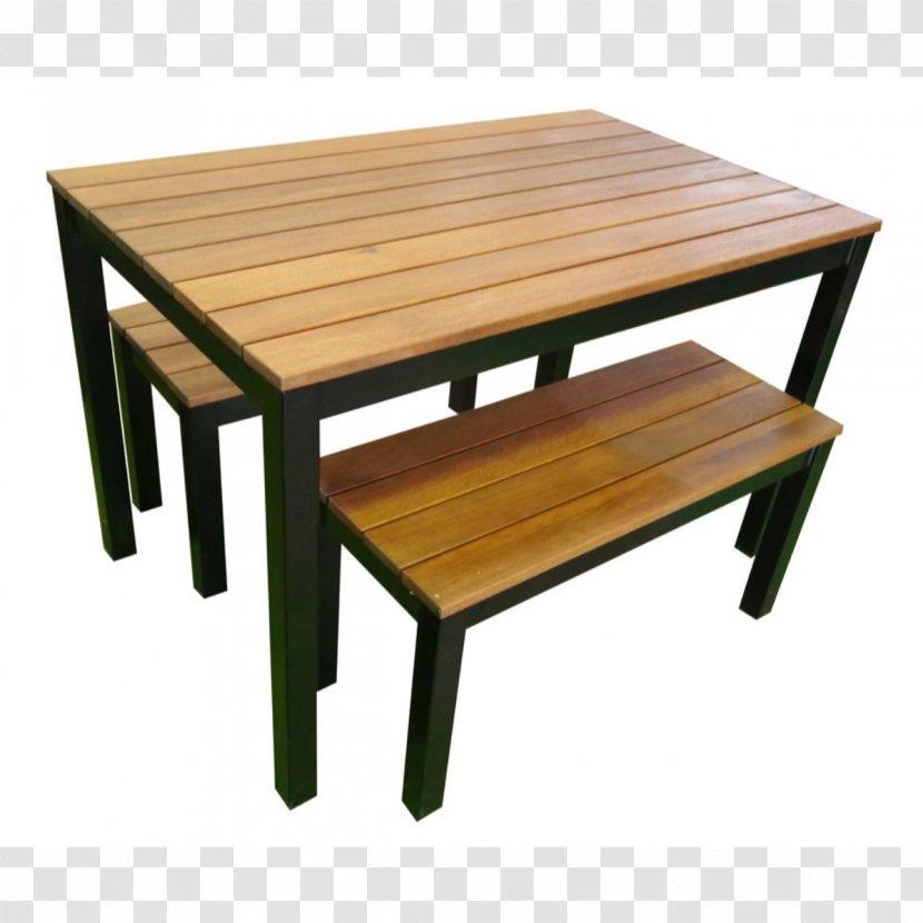 Table Garden Furniture Dining Room Bench Transparent Png
