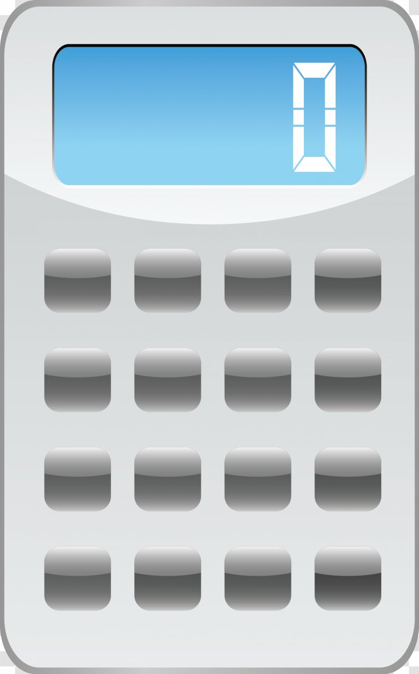 Calculator Computer Graphics - Vector Material Transparent PNG