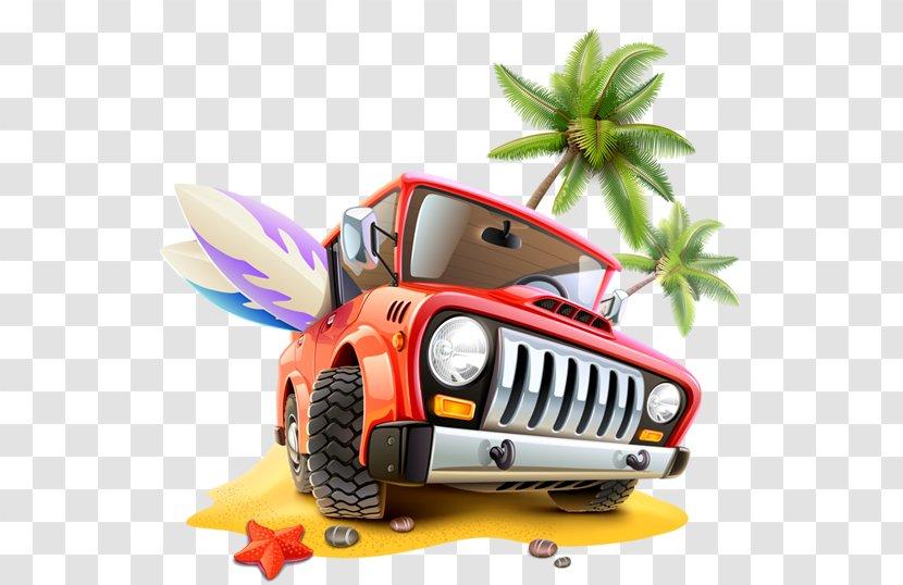 Alappuzha Travel Car - Technology - Summer Beach Coconut Grove Play Background Transparent PNG