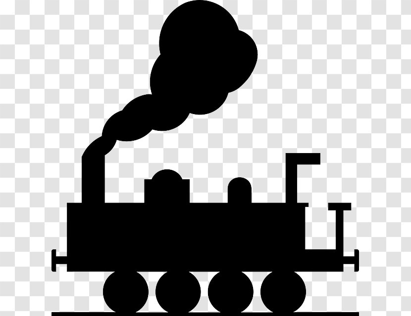 Train Rail Transport Steam Locomotive Clip Art Area Transparent Png