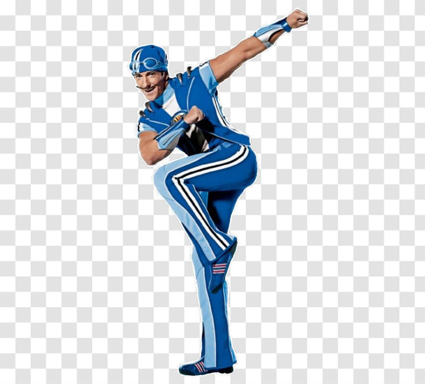 Sportacus Stephanie Robbie Rotten Character Julianna Rose Mauriello Transparent Png
