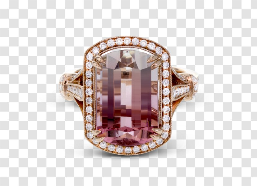 Engagement Ring Diamond Jewellery Ruby - Cut Transparent PNG