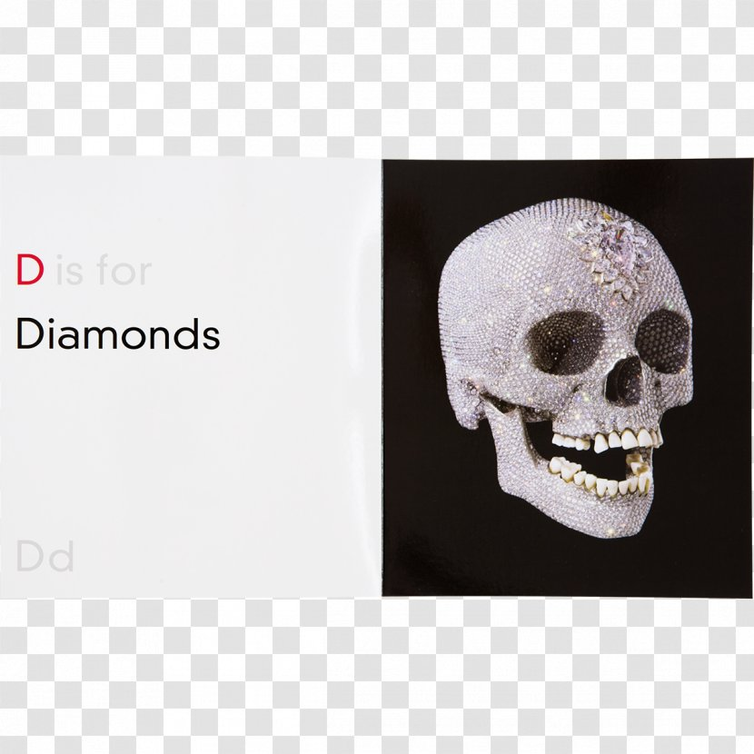 For The Love Of God Damien Hirst Abc God Making Diamond Skull Hirst Abcskull Transparent Png