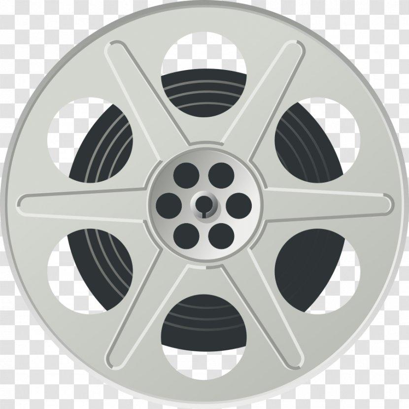 Art Film Reel Cinema Clip - Hardware - Filmstrip Transparent PNG