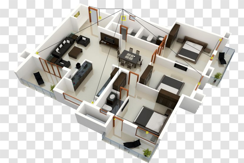 House Plan Interior Design Services Sweet Home 3d Floor 3d Transparent Png