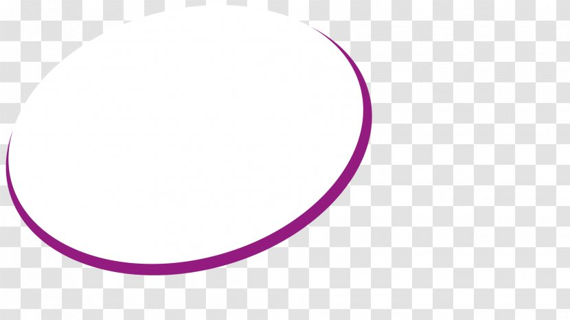 Circle Crescent Point Pink M - Text Transparent PNG