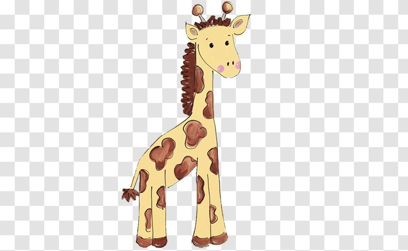 Baby Jungle Animals Zoo Giraffe Clip Art - Infant - Cliparts Transparent PNG