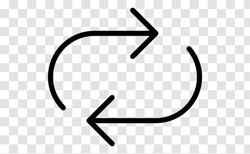 Arrow - Black And White - Symbol Transparent PNG