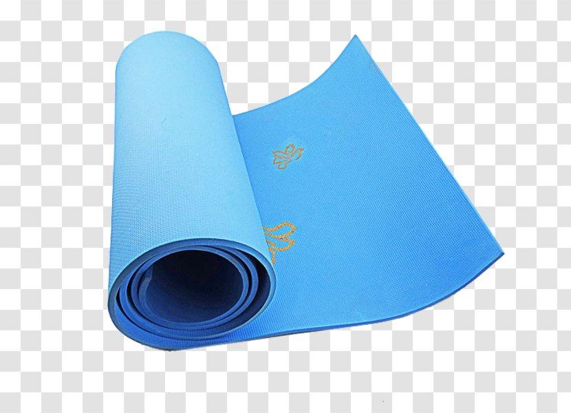 Yanhe East Road Turquoise Electric Blue Cobalt Yoga Mat Taekwondo Material Transparent Png