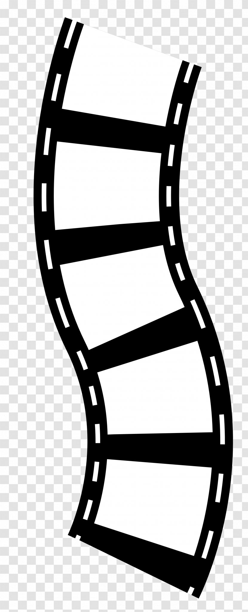 Photographic Film Reel Clip Art - Black And White - Roll Cliparts Transparent PNG