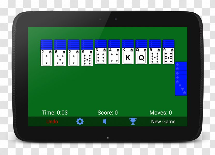 Microsoft Spider Solitaire Free 3 [card Game] Patience - Tri Peaks Transparent PNG