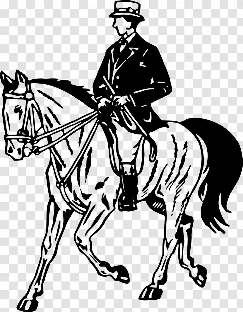 Horse Pony Equestrian Stallion Clip Art Riding Transparent Png