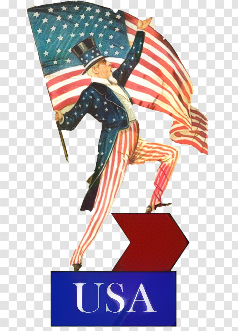 Labor Day Happy - 4th Of July - Veterans Flag Usa Transparent PNG