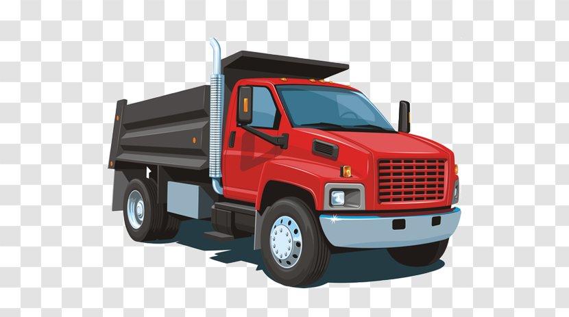 Dump Truck Clip Art: Transportation Art - Car - Heavy Transparent PNG