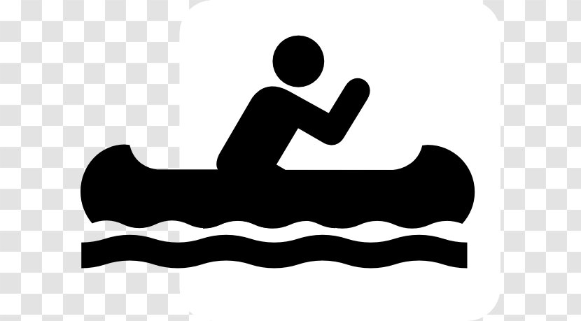 Canoe Camping Canoeing And Kayaking Clip Art - Rowing - People Cliparts Transparent PNG