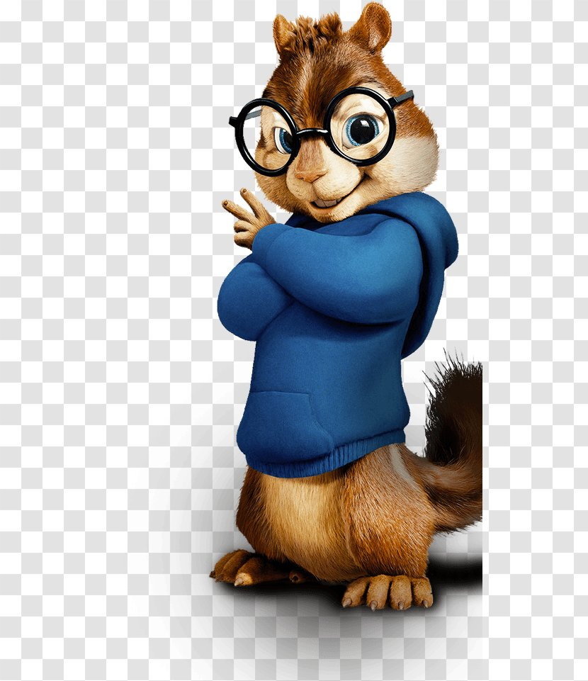 Simon Theodore Seville Chipmunk Alvin Dave And The Chipmunks Transparent Png