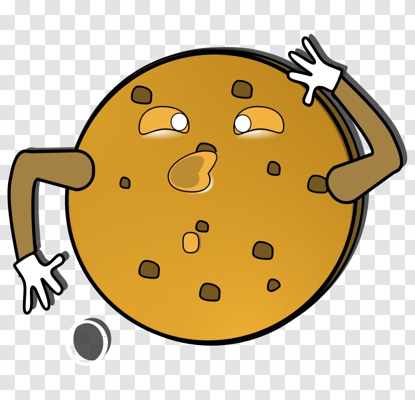 Chocolate Chip Cookie Monster Macaron Biscuits Clip Art - Biscuit Transparent PNG