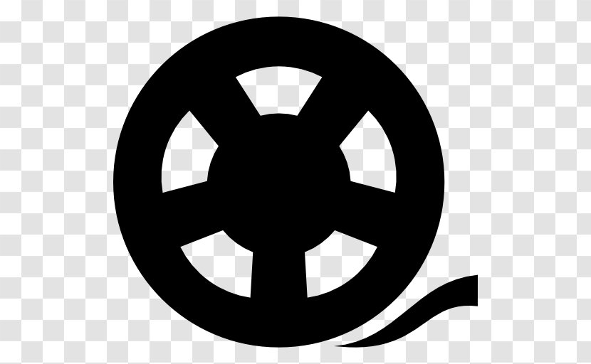 Photographic Film Reel Cinema - Black And White Transparent PNG
