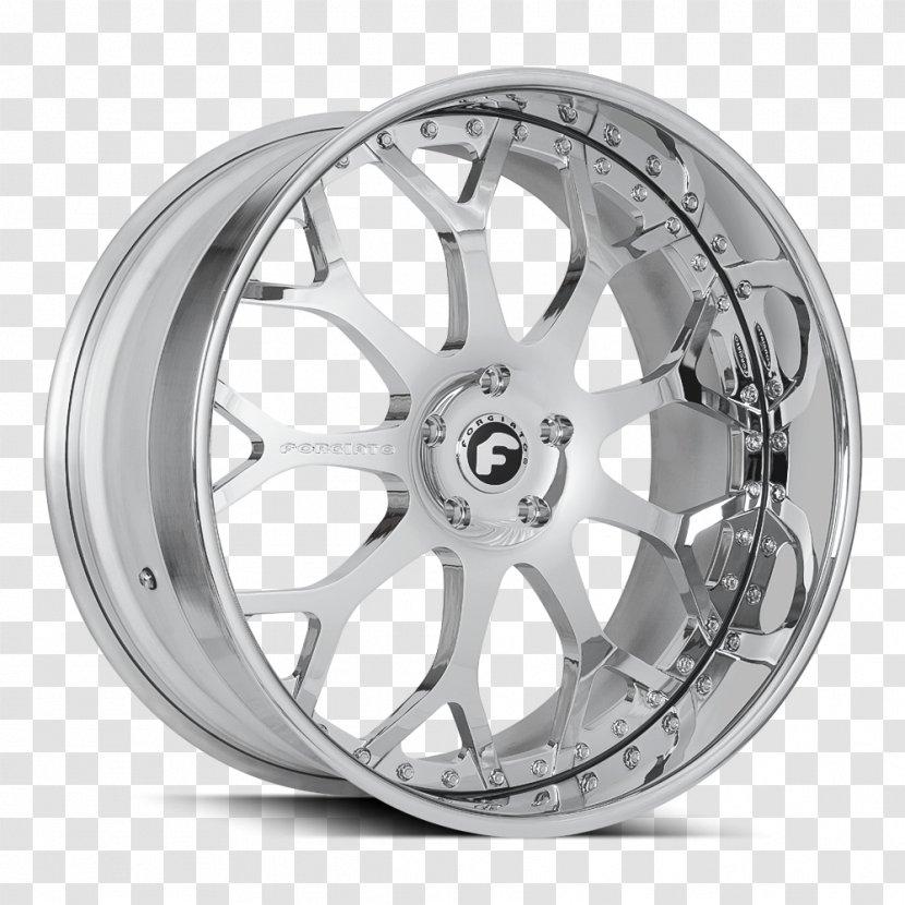 Car Forgiato Rim Custom Wheel - Spoke Transparent PNG