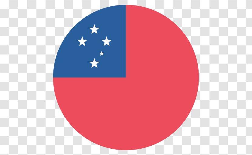 Flag Of Samoa Emoji The Republic China American Transparent PNG