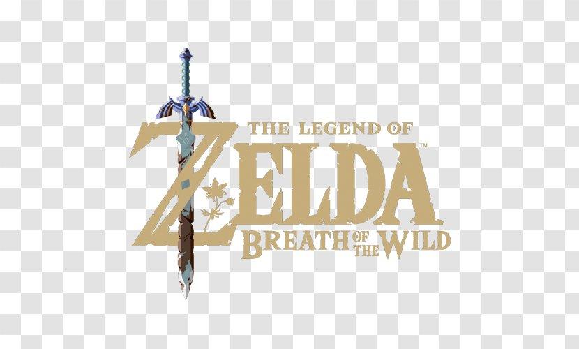 The Legend Of Zelda: Breath Wild Nintendo Switch Logo Brand Font - Zelda Transparent PNG