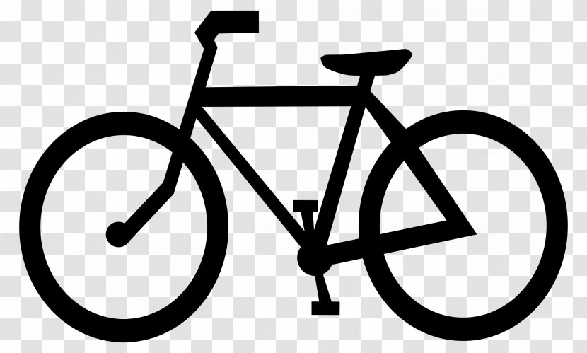 Bicycle Cycling Clip Art Transportation Art Spoke Bicycles Transparent Png