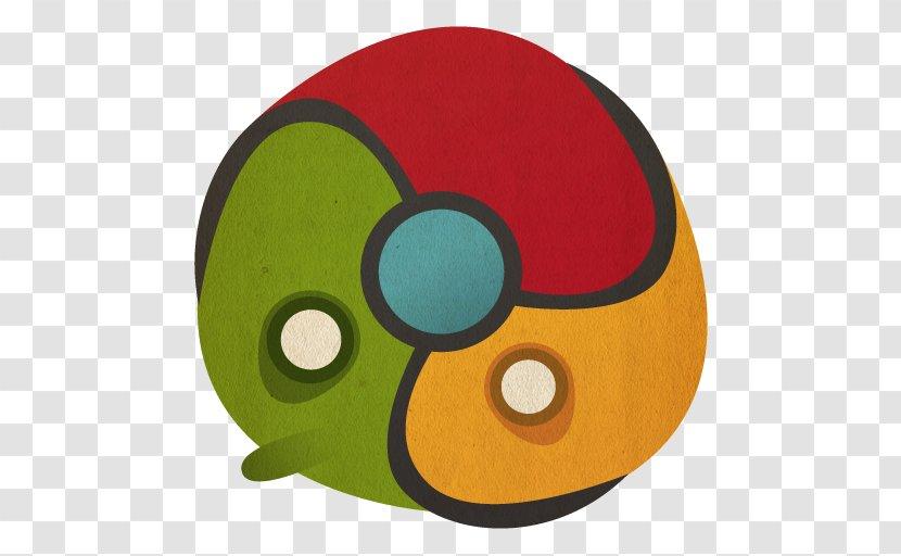 Yellow Green Headgear - Icon Design - Chrome Transparent PNG