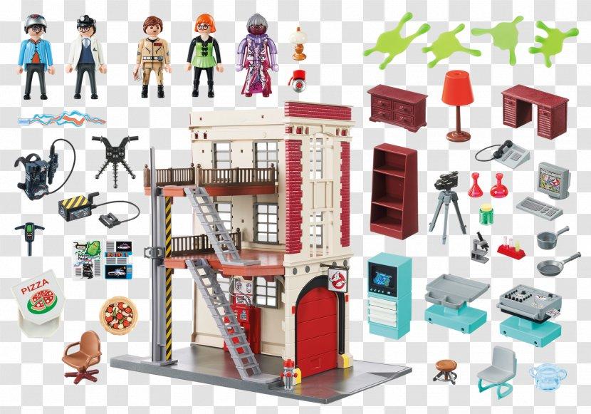Stay Puft Marshmallow Man Egon Spengler Peter Venkman Slimer Ray Stantz - Toy Transparent PNG