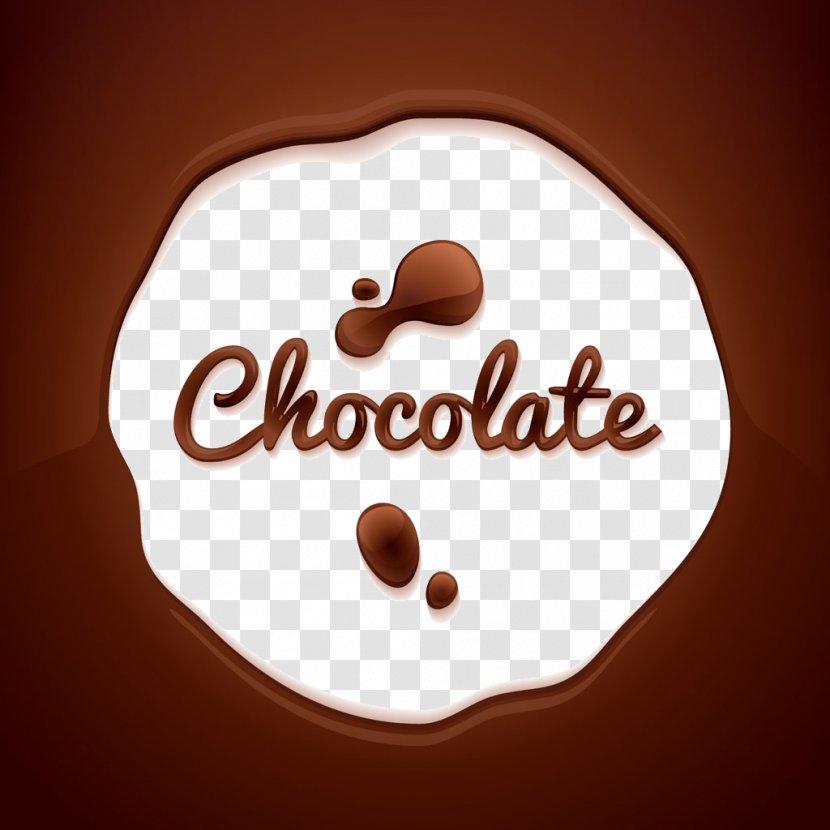 Hot Chocolate Bar Melting - English Alphabet Transparent PNG