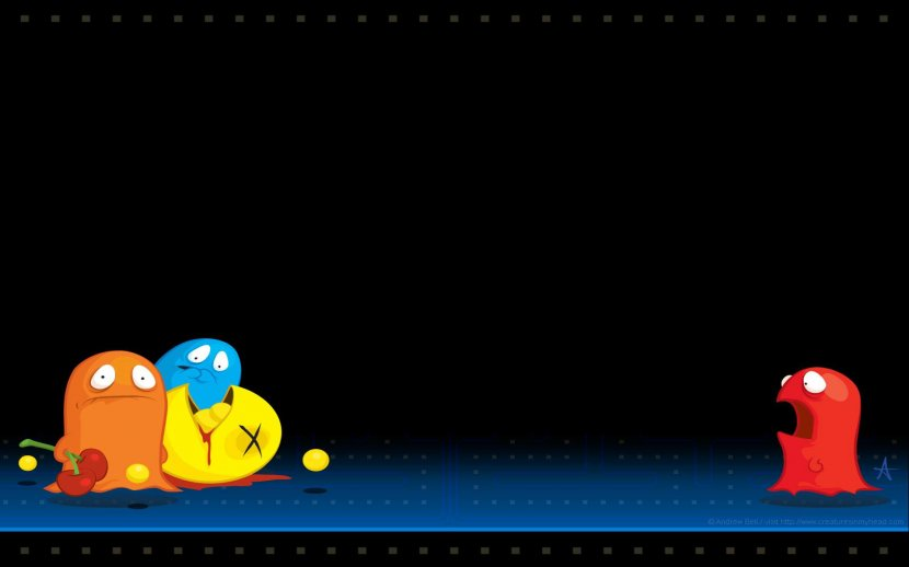 Pac Man 2 The New Adventures Desktop Wallpaper Video Game Blue Pac Man Transparent Png