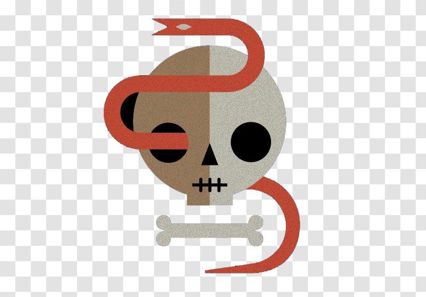 Snake Bone Skull - Skeleton Transparent PNG