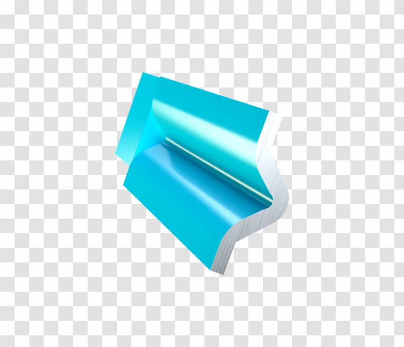 Rectangle Turquoise - Angle Transparent PNG