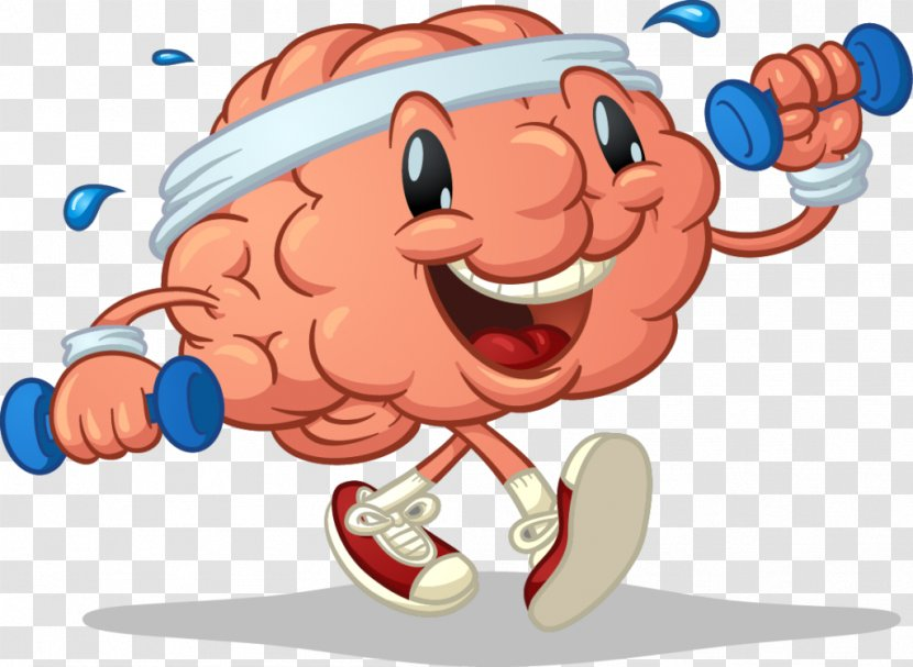Cognitive Training Brain Exercise Human Body Clip Art Silhouette Transparent Png