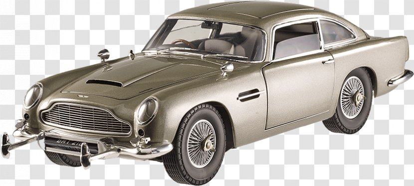 Aston Martin Db5 Car James Bond Db10 Brand Sean Connery From Russia With Love Transparent Png