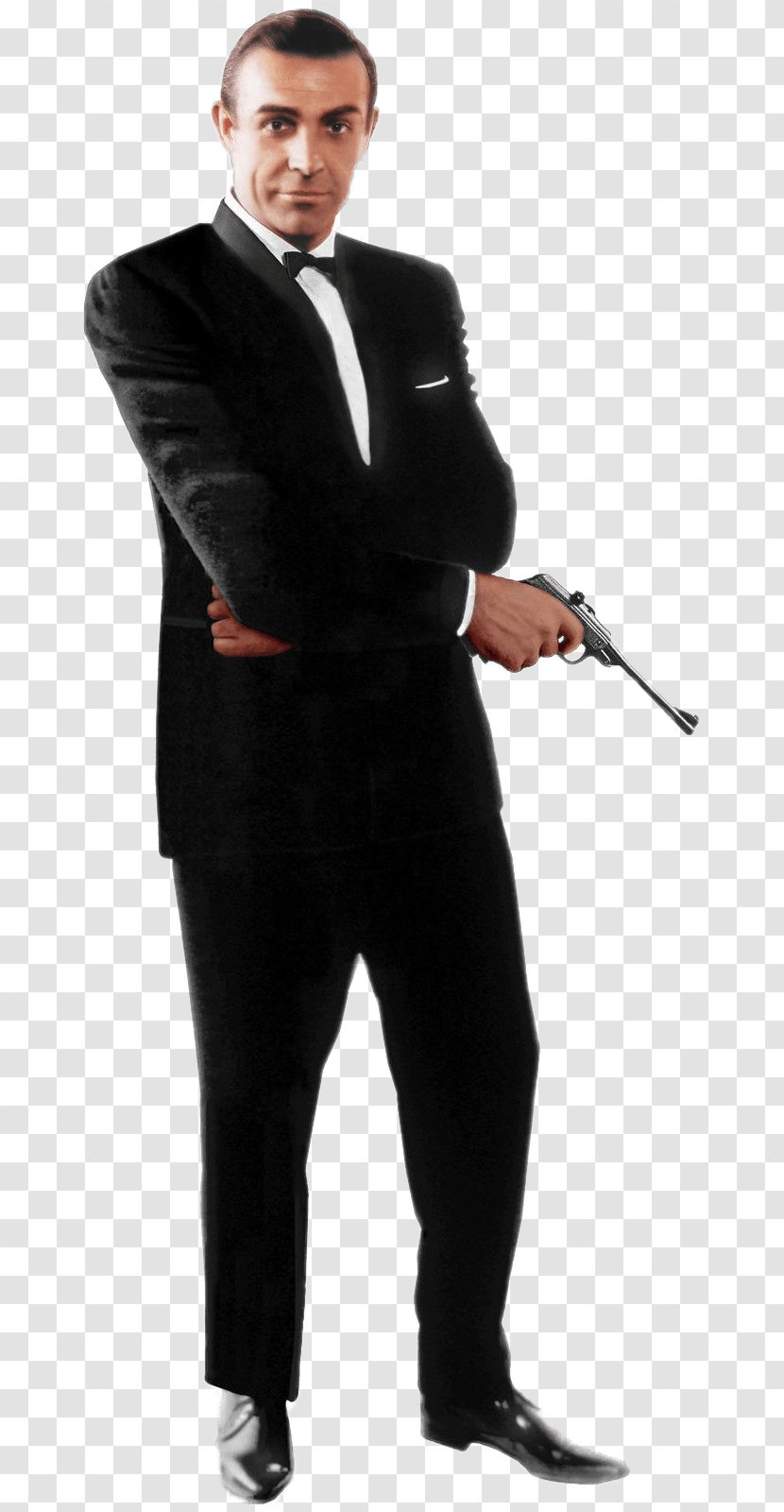 Sean Connery James Bond 007 From Russia With Love Standee Transparent Png