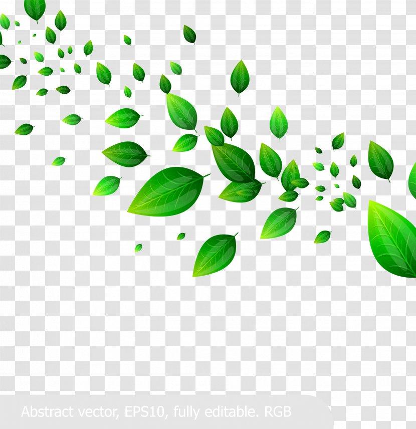 Fresh Green Leaves Clip Art