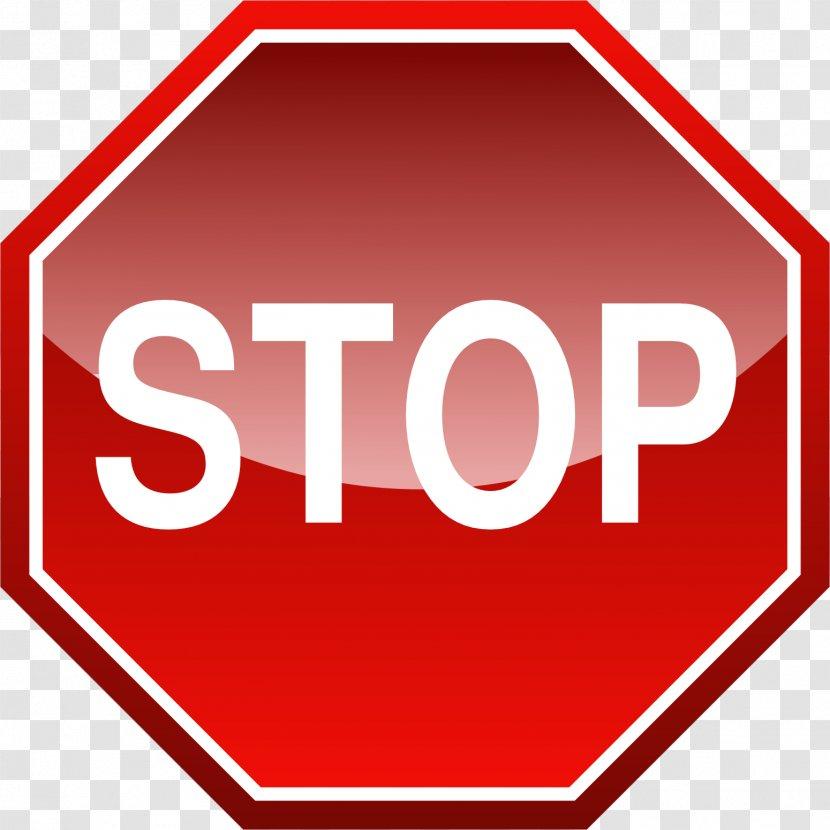 Stop Sign Logo Clip Art - Meg Masters Transparent PNG