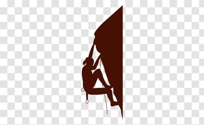 Climbing Wall Sport Silhouette Logo Harnesses Transparent Png