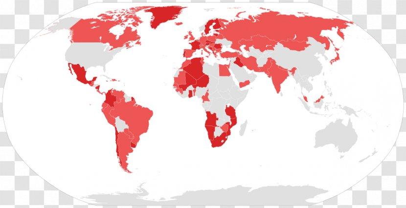World Map Germany Road Socialism Transparent Png