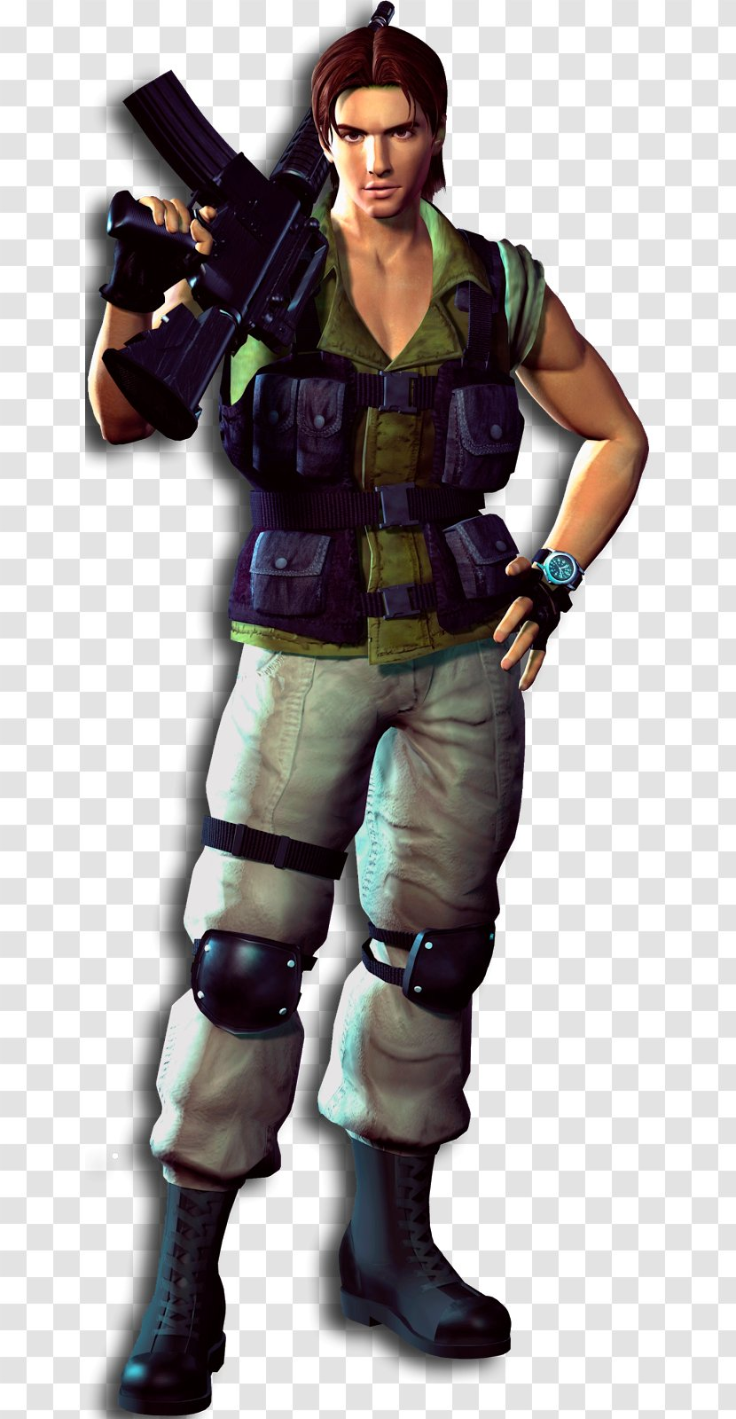 Resident Evil 3 Nemesis Zero Carlos Oliveira Transparent Png