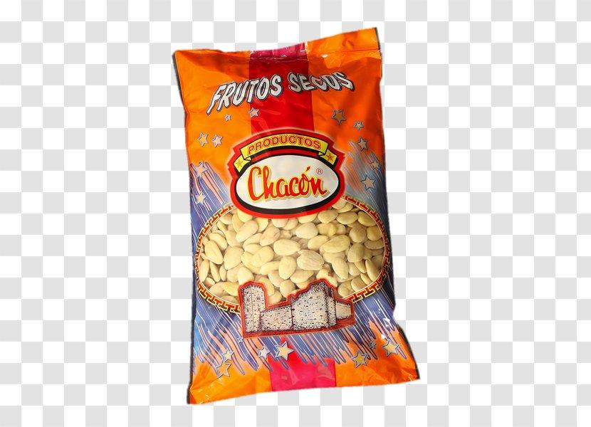 Vegetarian Cuisine Junk Food Ingredient Almond Product - Snack - Frutos Secos Transparent PNG