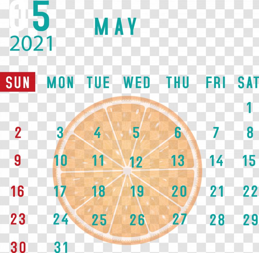 May 2021 Printable Calendar May 2021 Calendar Transparent PNG