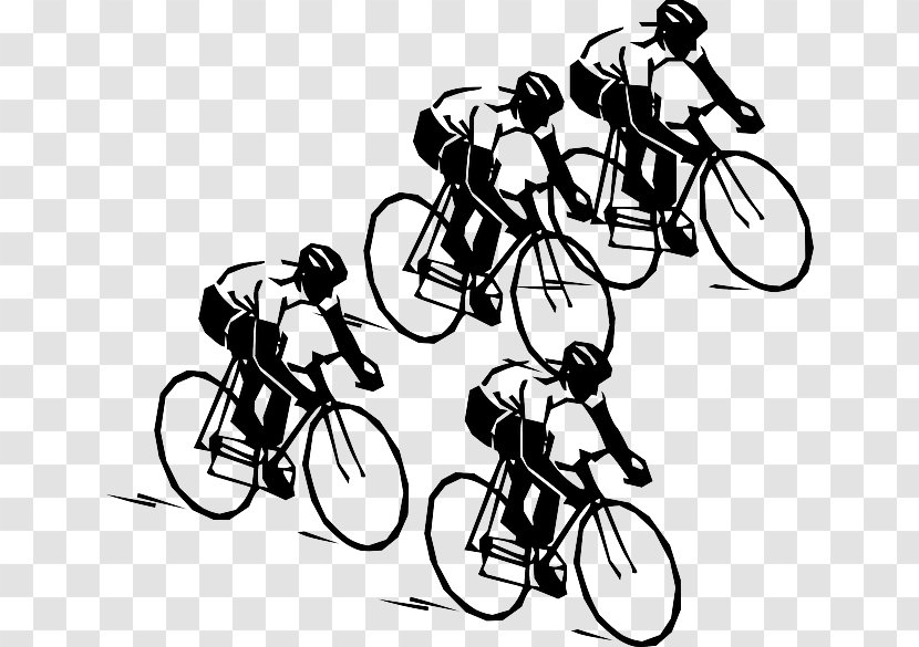 Cycling Bicycle Wheels Penny Farthing Clip Art Black And White Transparent Png