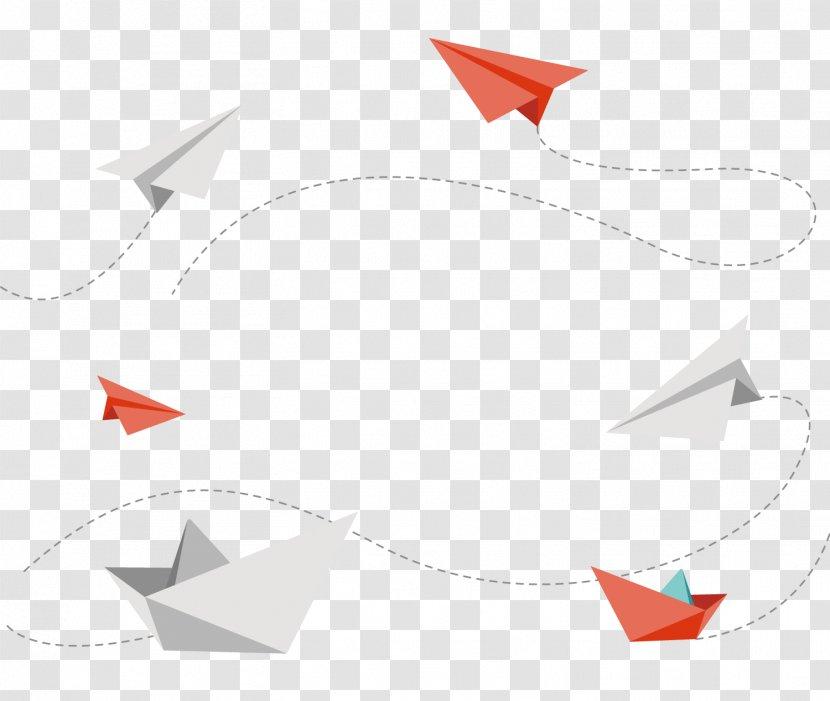 Paper Plane Airplane Aircraft Cartoon Transparent Png