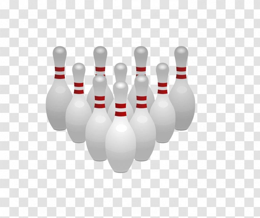 Bowling Pin Ball Clip Art - Cartoon Transparent PNG