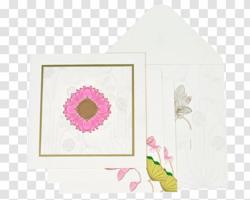 Paper Picture Frames Pink M Rectangle Rtv Indian Wedding Cards Transparent Png