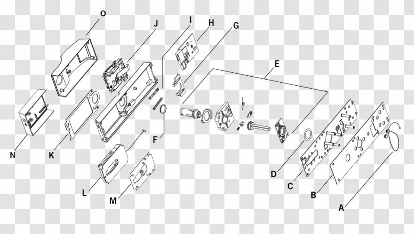 Wiring Diagram Drawing Lock Circuit - Text - Kaba Transparent PNGPNGHUT