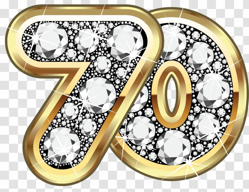 Anniversary Birthday Photography Royalty Free Clip Art Symbol Golden Earth 70th Transparent Png