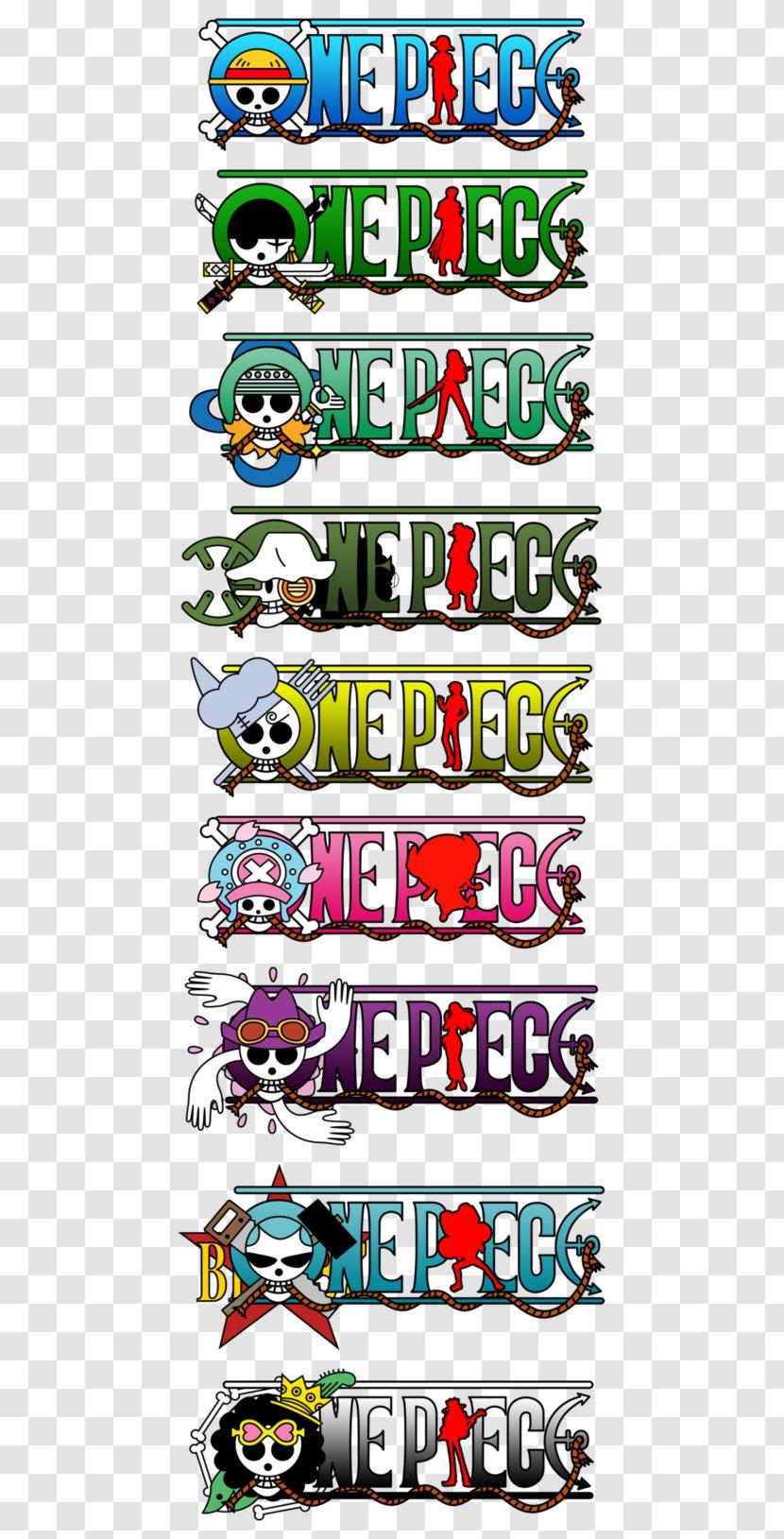 Monkey D Luffy Usopp Vinsmoke Sanji Roronoa Zoro Nami Logo One Piece Transparent Png